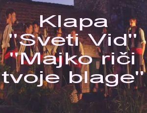 Snimka koncerta klape Sv.Vid