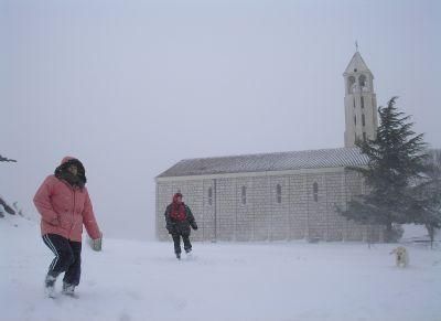 Veliki snijeg u Vidu 18.02.2009
